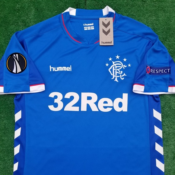 6b4dc0f0b1a Hummel Shirts | 201819 Rangers Fc Soccer Jersey Size M | Poshmark